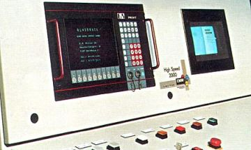 EMM Highspeed 2000 - Bedienpanel